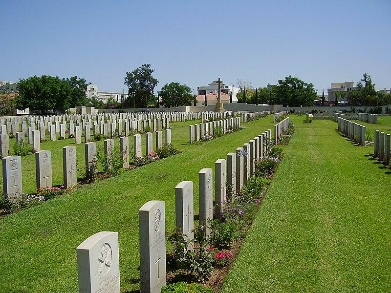 בית הקברות הצבאי הבריטי ברמלה