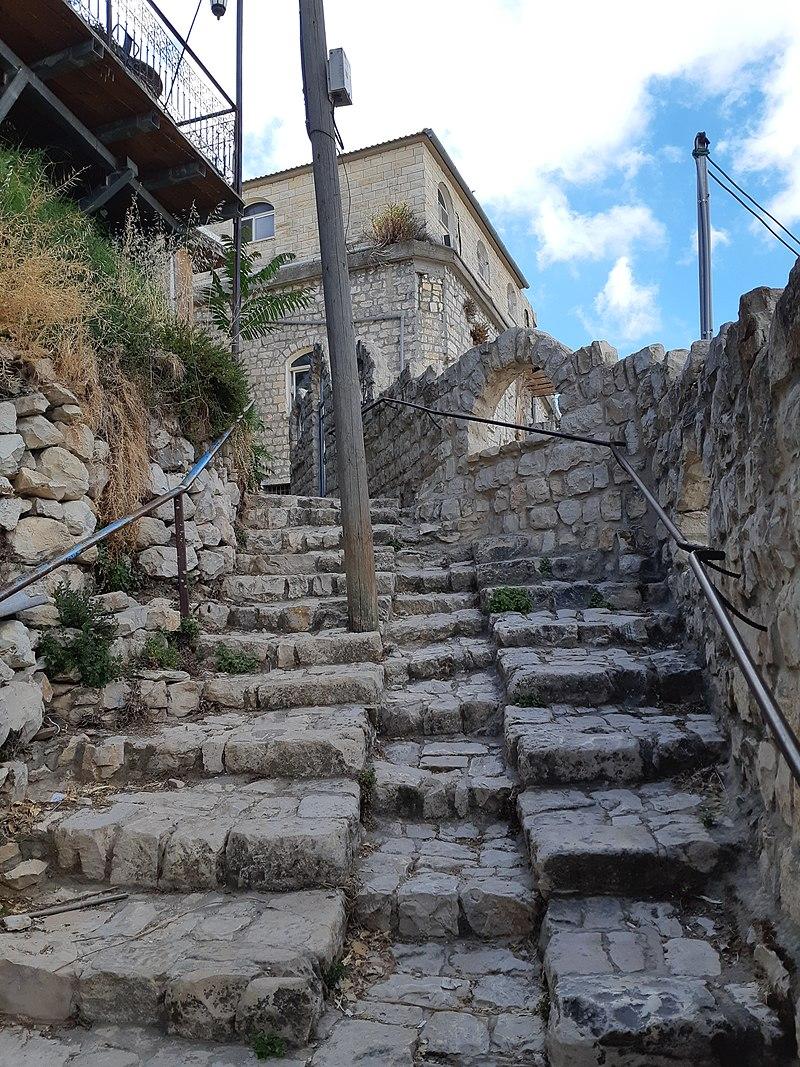 סמטא ברובע היהודי בצפת