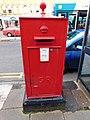Pillar box LL30 13, Gloddaeth St, Llandudno.jpg