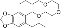 Piperonyl Butoxide Chemical Structure (Wikipedia)