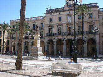 Vilanova i la Geltrú - Plaça de la Vila