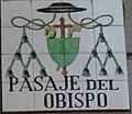Placa del pasaje del Obispo (cropped).JPG