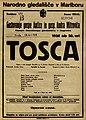 Plakat za predstavo Tosca v Narodnem gledališču v Mariboru 14. aprila 1926.jpg