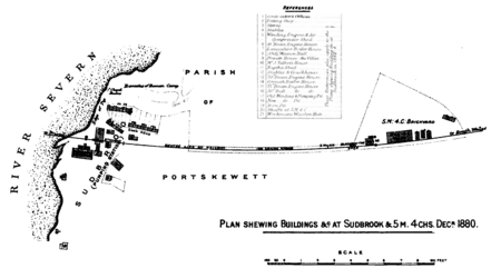 Plan of Sudbrook, 1880 (Walker 1888).png