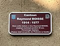 Plaque maison Raymond Boisse - Piolenc - France.jpg