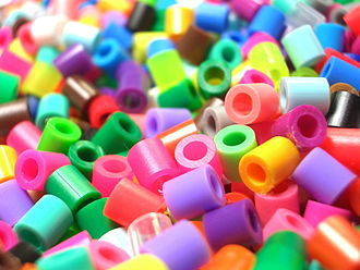 Seed bead - Plastic cylinder beads