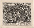 Plate 31- Civilis Forced to Dismount and Swim Across the River, from The War of the Romans Against the Batavians MET DP862860.jpg