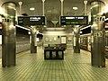 Platform of Tengachaya Station (Sakaisuji Line) 3.jpg