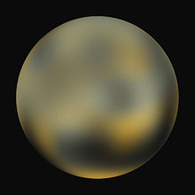 what color is pluto the planet - photo #22