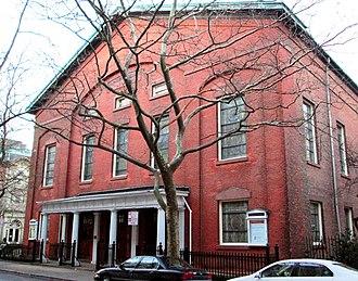 Plymouth Church (Brooklyn) - Image: Plymouth Church Brooklyn Heights