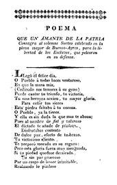 Poema que un amante de la patria - Fray Cayetano Jose Rodriguez.pdf