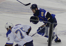 Roman Polak of the STL Blues.