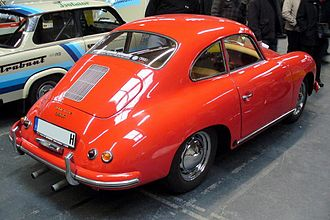 Fastback - Rear-engined fastback: Porsche 356
