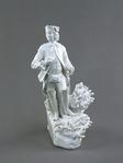 Porslin. Vit figurin - Hallwylska museet - 89223.tif