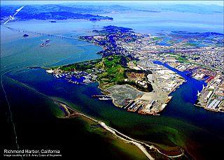 Port of Richmond (California) port in California, USA