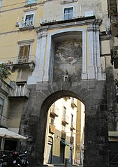 Frescoes for the gates of Naples