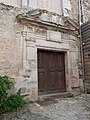 Porte renaissance (château de Saint-Martin-Laguépie).jpg