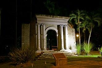 University of Puerto Rico at Mayagüez - UPRM's portico.