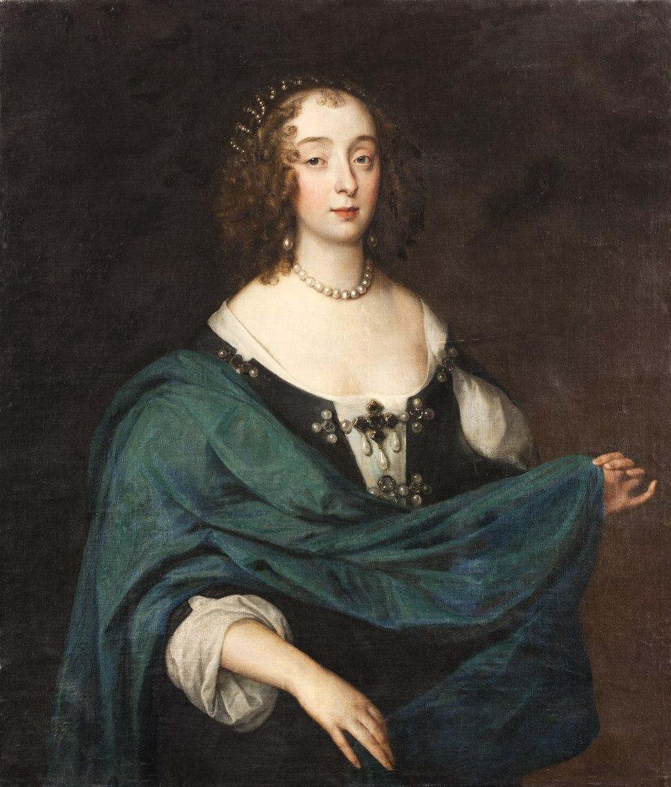 Portr%C3%A4tt, Henrietta Maria av Frankrike - Skoklosters slott - 88967