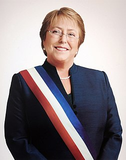 Michelle Bachelet 34th & 36th President of Chile
