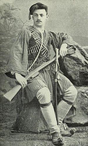 Boris Sarafov - Portrait of Boris Sarafov
