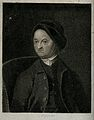 Portrait of an unknown man in a cap. Etching after Hogarth. Wellcome V0049271.jpg