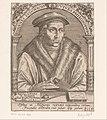 Portret van Juan Luis Vives Joannes Ludovicus Vives philosophus (titel op object) Serie portretten van vijftiende- en zestiende-eeuwse geleerden (serietitel), RP-P-OB-41.864.jpg