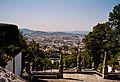 Portugalia Braga widok ze wzgorza 300 mnpm widok z poziomu kosciola.jpg