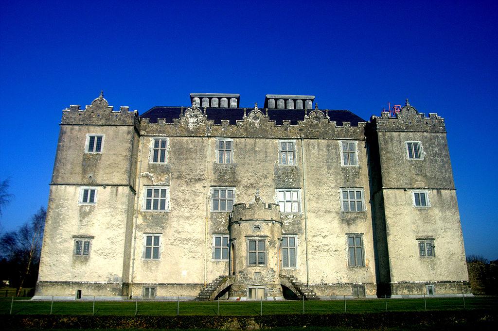 Close up of Portumna Castle