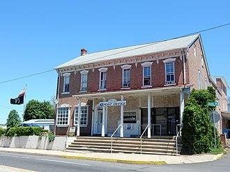 Palm, Pennsylvania - Image: Post Office 18070, Palm PA