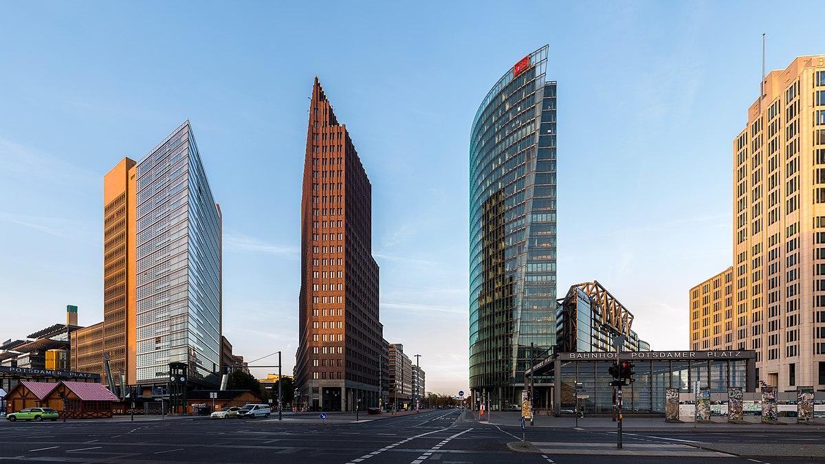 Resultado de imagem para Potsdamer Platz