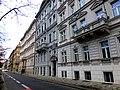 Prag – Wohnen am Moldauufer, Janáčkovo nábřeží - Praha - Život na břehu Vltavy, Janáčkovo nábřeží - panoramio.jpg