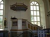 Fil:Predikstolen, Säters kyrka.jpg