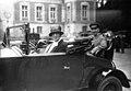 Première sortie de l'automobile Club féminin - la Baronne H. de Rothschild, dans sa voiture - (photographie de presse) - Agence Meurisse.jpg