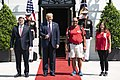 President Trump Welcomes the Walking Marine to the White House (50159800911).jpg