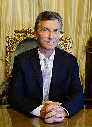 Mauricio Macri - Official portrait of Mauricio Macri