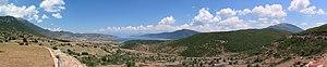 Prespa National Park - View of the Albanian Prespa Lake