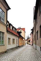 Fil:Pressen 3 Mellangatan 25 Visby Gotland.jpg