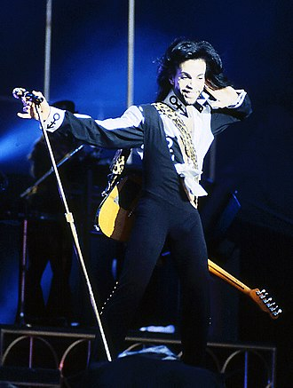 Prince (musician) - Prince performing during his Nude Tour in 1990