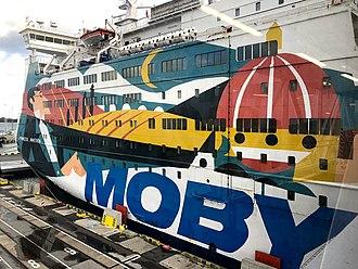SPL Princess Anastasia (1986) - St. Peter Line Moby Lines livery, October 2018