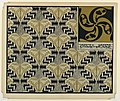Print, Tapete Goldene Schmetterlinge (Golden Butterfly Wallpaper), plate 12, in Die Quelle- Flächen Schmuck (The Source- Ornament for Flat Surfaces), 1901 (CH 18670505-2).jpg