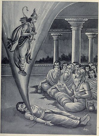 Prithu - Prithu appears from Vena's corpse.