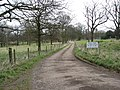 Private track near Barlborough Hall School - geograph.org.uk - 1228980.jpg