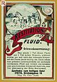 Product label; Restitutions fluid Wellcome L0032867.jpg