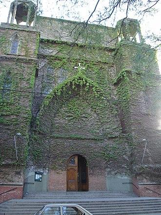 Olivos, Buenos Aires - Church of Jesus in the Mount of Olives. (Parroquía Jesus en el Huerto de los Olivos).