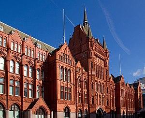 Holborn Bars - Prudential Assurance Building, 142 Holborn, Camden