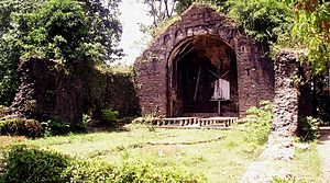 Apayao - Ruins of Pudtol Church, built in 1684 by the Dominicans and abandoned in 1815