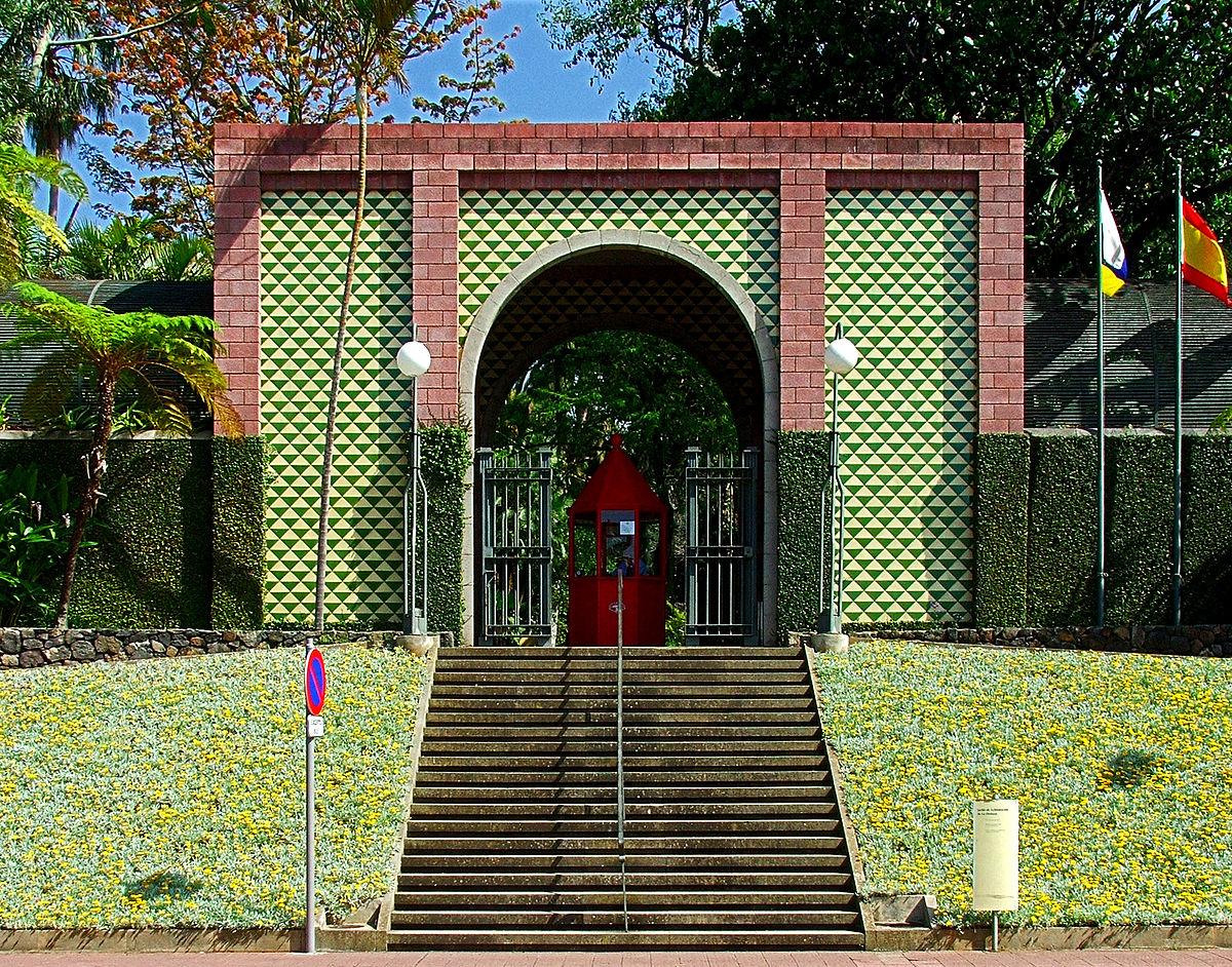 Jard n de aclimataci n de la orotava wikipedia la for Como ir al jardin botanico