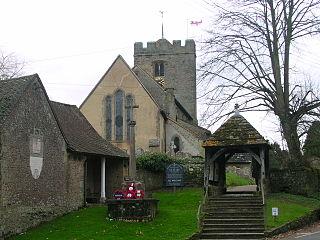 Pulborough village and civil parish in West Sussex, England