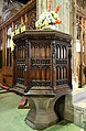 Pulpit, St Andrew's Church, Bebington.jpg